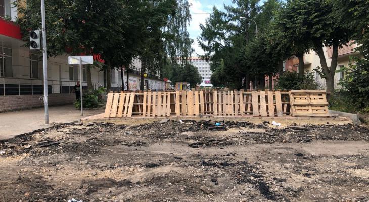 В Йошкар-Оле скверы и улицы украсят малыми архитектурными формами