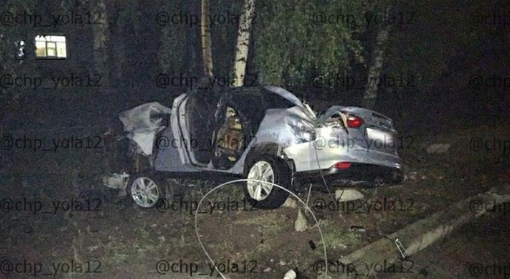 В машине было двое детей: появились подробности серьезного ДТП в Марий Эл