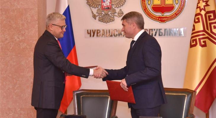 Петр Колтыпин посетил Чувашскую Республику с рабочим визитом