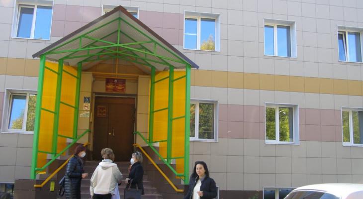 Детская поликлиника в пригороде Йошкар-Олы обрела новое лицо