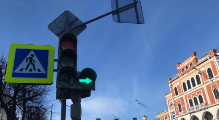 В столице Марий Эл появится три новых регулируемых перекрестка