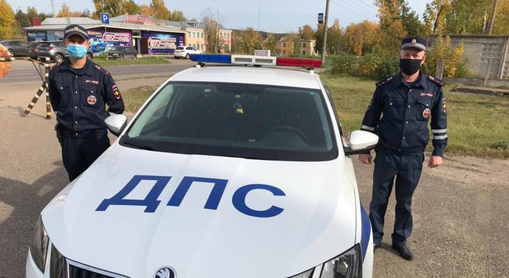 В Марий Эл сотрудники ГИБДД задержали пьяного угонщика
