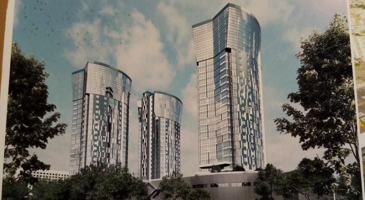 «Башни близнецы» могут появиться в Йошкар-Оле: представлен эскиз