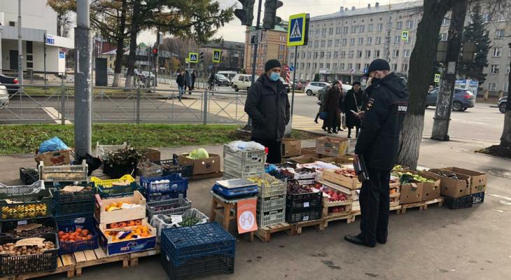 В Йошкар-Оле проходят проверки уличных торговцев