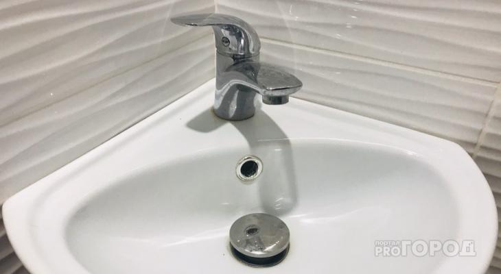Завтра на двух улицах в Йошкар-Оле отключат воду