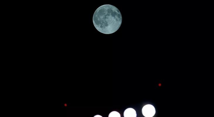 Йошкаролинцы смогут увидеть «голубую луну»