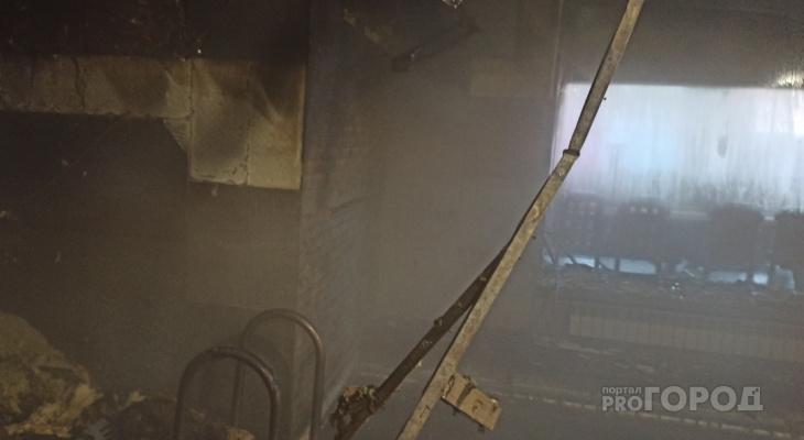 В Йошкар-Оле сгорел дом отдыха