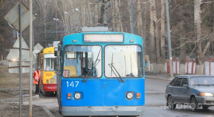 В Йошкар-Оле изменится расписание троллейбусов