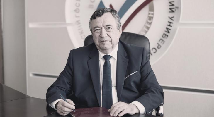 В Йошкар-Оле пройдет прощание с бывшим ректором Волгатеха