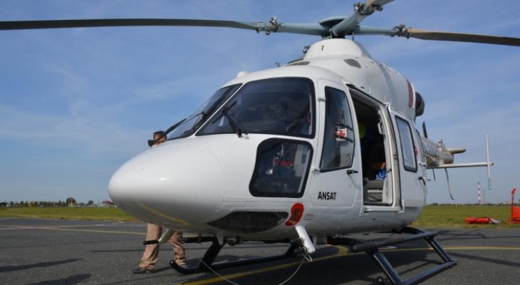 В Йошкар-Оле появится площадка для медицинского вертолета за 7 миллионов рублей