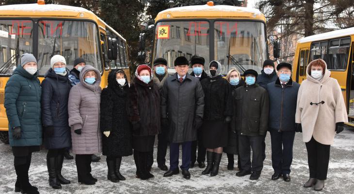 Более 50 миллионов рублей потратили в Марий Эл на школьные автобусы