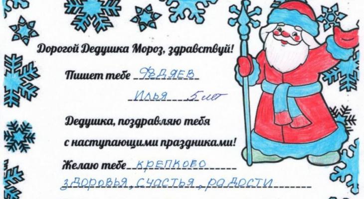 «Дедушка Мороз, будь счастлив»: малыши из реабилитационного центра просят машинки и робота