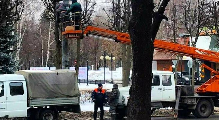 На двух участках дорог в Йошкар-Оле поставили новые камеры