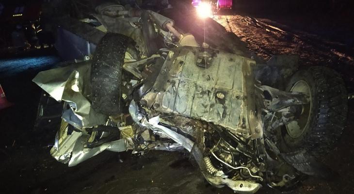 Сразу несколько ДТП на одном участке автодороги «Вятка» : есть погибшие