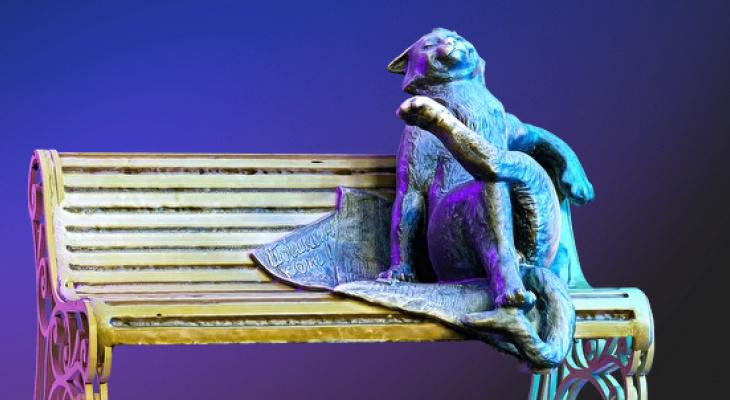 """""""Йошкин кот"""" борется за звание лучшей скульптуры России"""