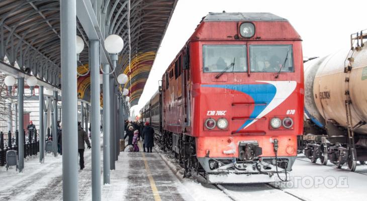 На новогодние праздники увеличится количество поездов Йошкар-Ола-Москва