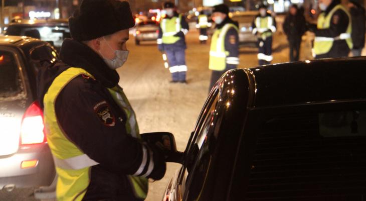 За последние сутки в Марий Эл задержано 10 пьяных водителей
