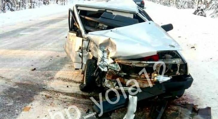 Машины превратились в консервные банки: на трассе в Марий Эл произошло ДТП