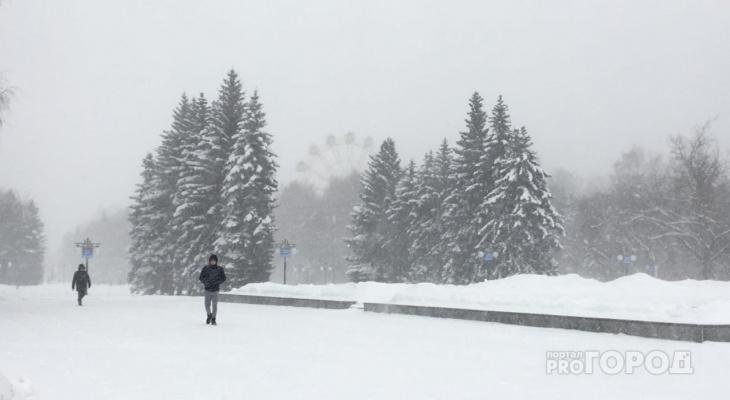Экстремальная погода в Йошкар-Оле сменится на тепло и снежок