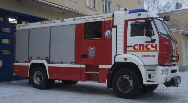 Марий Эл получила пять новых пожарных автоцистерн