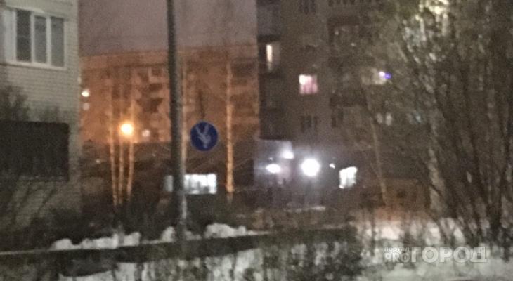 """В Йошкар-Оле """"съехал"""" дорожный знак"""