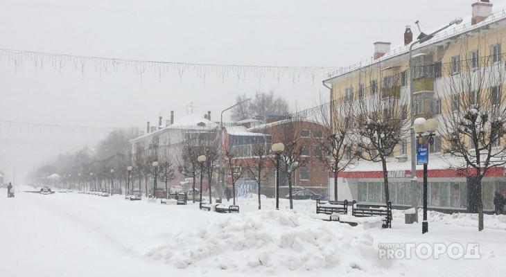 """Погода в Йошкар-Оле """"замерла"""" в ожидании резкого потепления"""