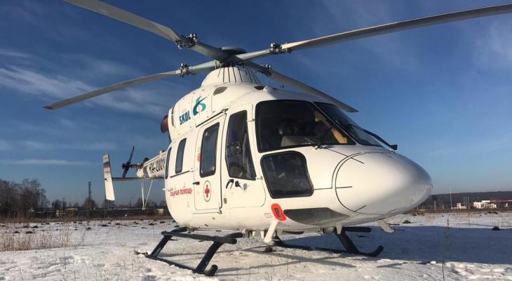 В Марий Эл вертолет санавиации планируется выпустить в воздух около сорока раз