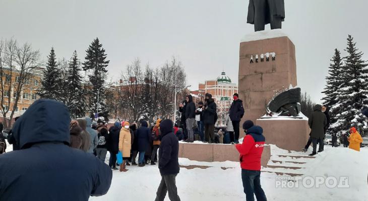 Митинг 23 января: что сейчас происходит в Йошкар-Оле