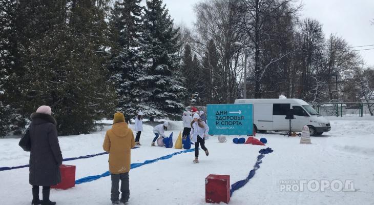 День Здоровья и спорта: в Йошкар-Оле организовали праздник для всех