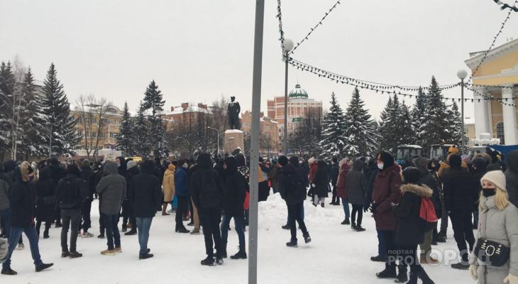 Стало известно, отчисляли ли студентов из Йошкар-Олы за посещение митингов