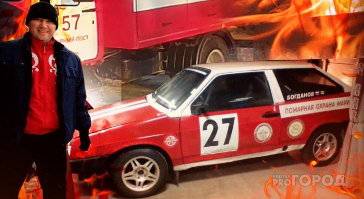 """""""Жена научила меня быть гонщиком"""": пожарный из Йошкар-Олы рассказал о своем увлечении автоспортом"""