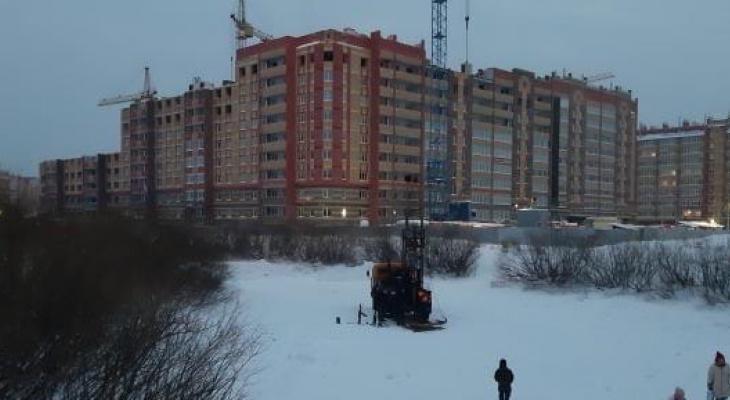 """""""Единственный кусочек природы"""" в Девятом микрорайоне превращают в строительную площадку"""