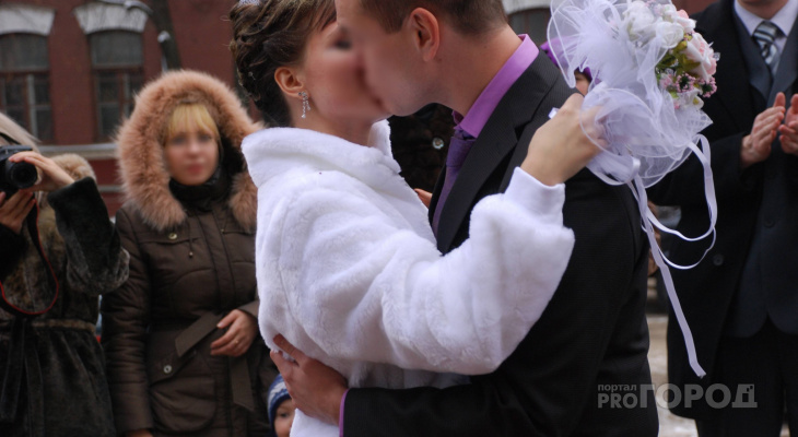 Йошкар-Ола попала в ТОП-5 городов с самыми дорогими свадьбами