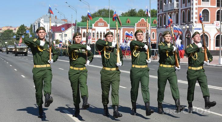 В Марий Эл началась вакцинация военных, участвующих в параде Победы