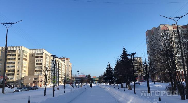 В понедельник в Йошкар-Оле ожидается мороз и солнце