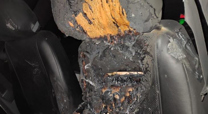 В Марий Эл найден мужчина в сгоревшем автомобиле