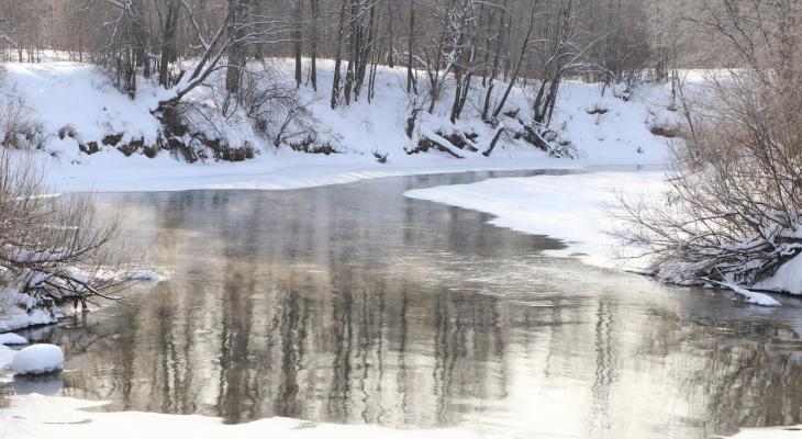 Февральские морозы плавно отпускают Йошкар-Олу