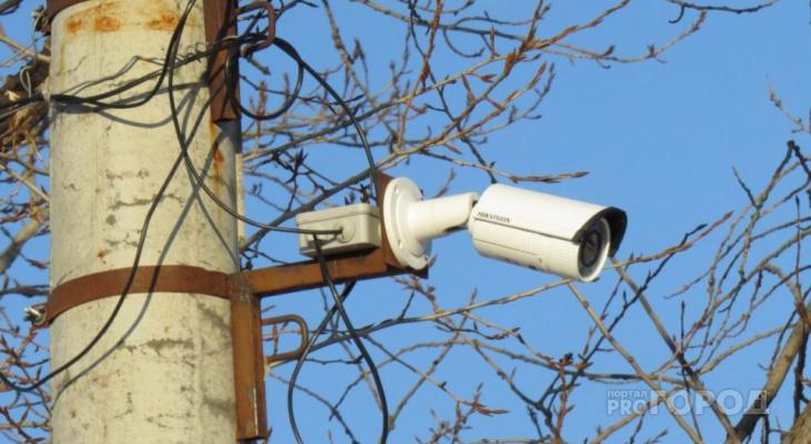 В Йошкар-Оле устанавливают камеры видеослежения в центре города