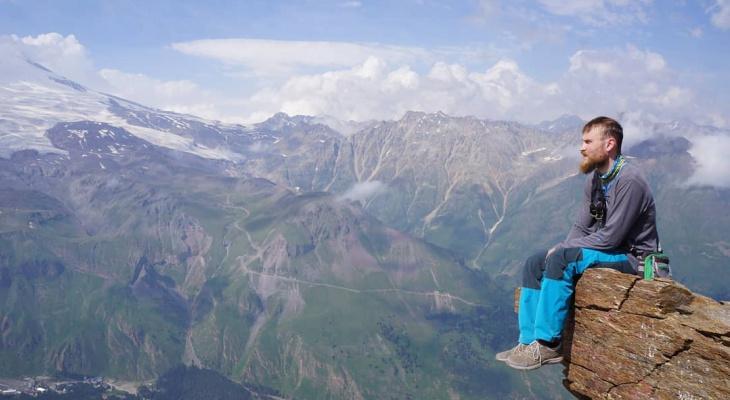 «Шаг влево, шаг вправо – финал»: альпинист из Йошкар-Олы рассказал об экстремальном увлечении