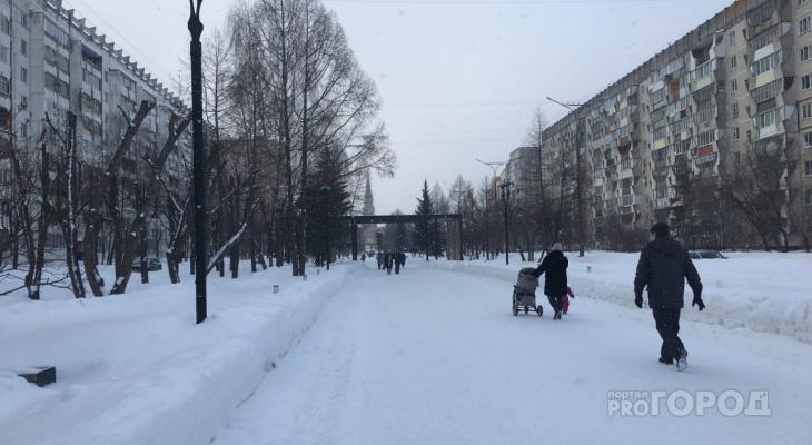 В Йошкар-Олу вернулись февральские морозы