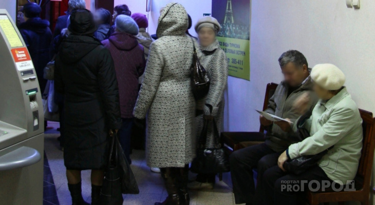 В Йошкар-Оле, у одной из компаний, люди более двух часов ждали своей очереди