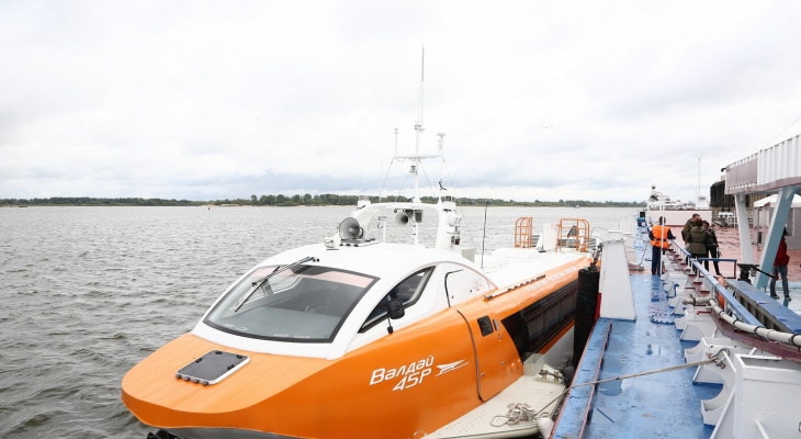Из Марий Эл в Нижний Новгород можно будет добраться на пассажирском катере