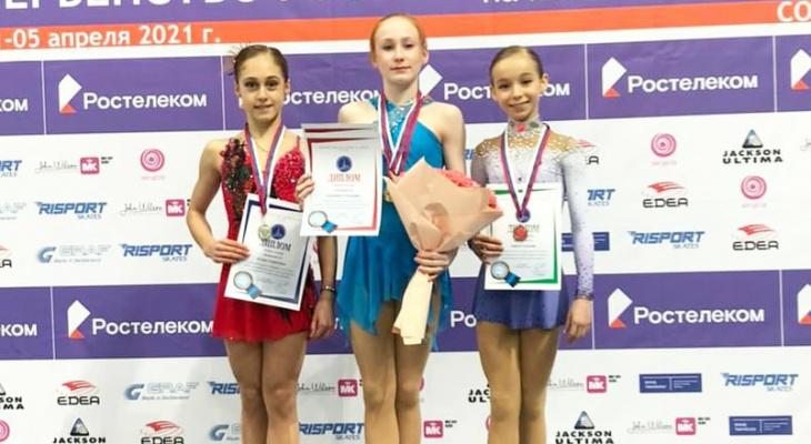 Фигуристка из Марий Эл стала бронзовым призером в Первенстве России