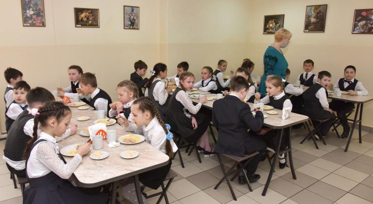 Александр Евстифеев проверил, как кормят йошкар-олинских школьников