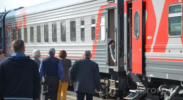 В майские праздники из Москвы в Йошкар-Олу можно будет добраться на дополнительном поезде
