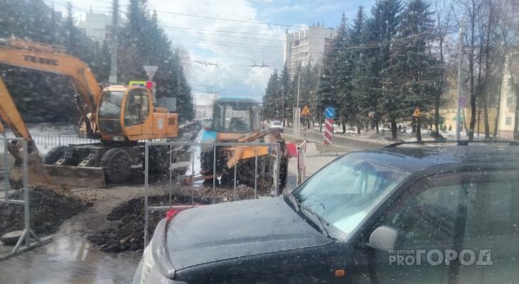 Завтра в Йошкар-Оле перекроют одну из центральных улиц