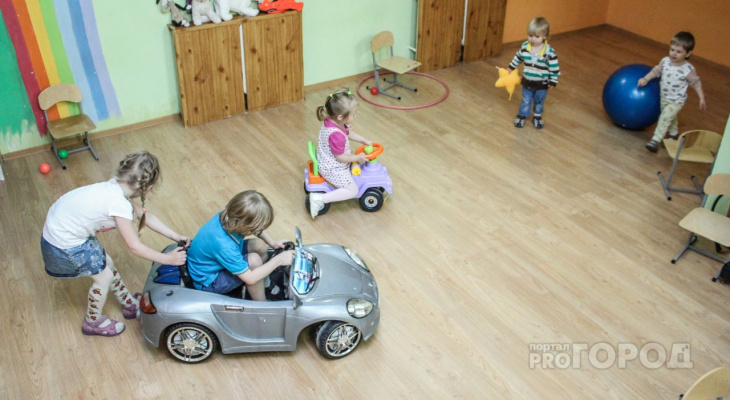 В следующем году детские сады Марий Эл примут на 575 детей больше