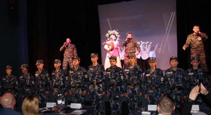 Коллектив из марийского УФСИН принял участие в первом фестивале патриотического рэпа
