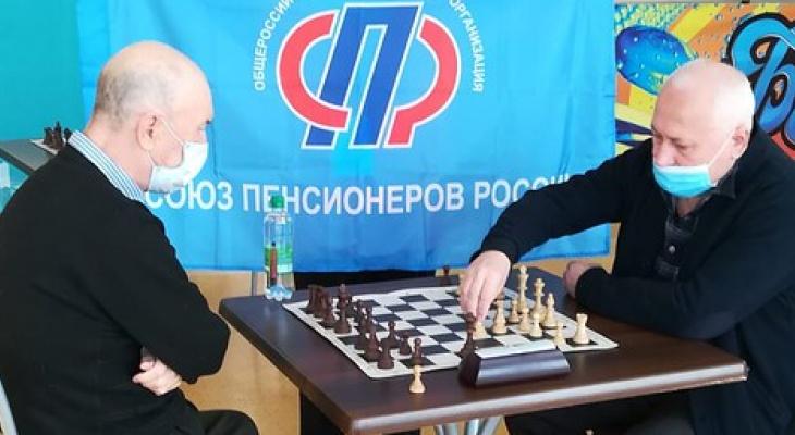 В Марий Эл прошел отборочный этап шахматного турнира среди пенсионеров