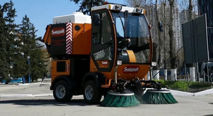 Власти купили пылесос для уборки улиц Йошкар-Олы